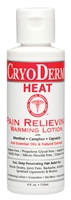 CryoDerm Heat 4 oz Lotion