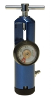 John Bunn Oxygen Regulator 0-8 LPM Yoke Style