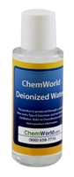 Deionized Water Type II Technical Grade - 2 oz