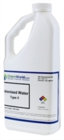 Deionized Water Type II Technical Grade - 32 oz