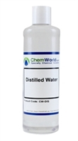 Technical Grade Distilled Water - 16 oz