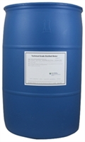 Technical Grade Distilled Water - 55 Gallons