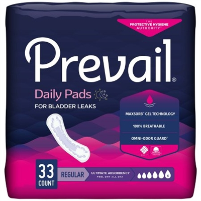 Prevail Curve Bladder Control Pad Ultimate