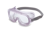 Honeywell Uvex Classic Closed Vent Goggles With Clear Frame And Clear Uvextreme Anti-Fog Lens