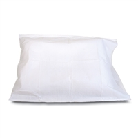 BodyMed Tissue Poly Pillowcases 21in X 30in, White