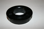 "Nylon 1"" center bearing for residential torsion spring garage door openers."
