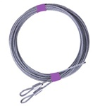 Garage Door Extension Cable Set for up to 8' High Doors