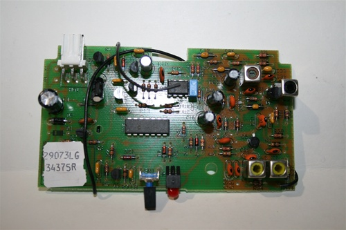 Genie 20437rs Internal Receiver Circuit Board 34375r