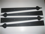 Carriage House Garage Door Decorative Hinge 24 inch set of 4