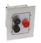 Commercial 3BFX Flush Mount Exterior Garage Door Control Station