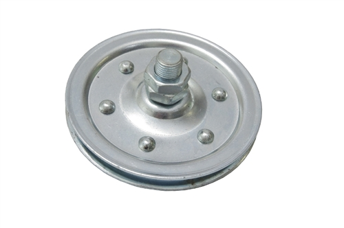 4 Quot Cable Stud Pulley Wheel For Extension Springs Garage Doors