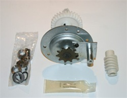 Liftmaster gear and sprocket assembly for ATS211