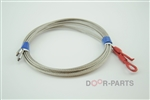 1/8 inch stainless steel cable garage door assembly corrosion resistant