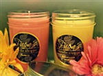 2 Pack Jelly Jar Candles