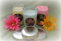 3 Pack Jelly Jar Candles