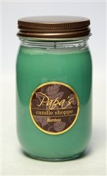 Bamboo Jelly Jar Soy Candle graphic