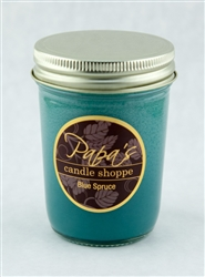 scented soy candle graphic
