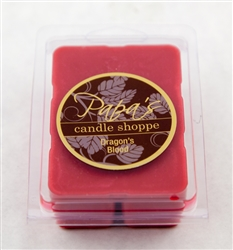 Dragon's Blood wax melts graphic