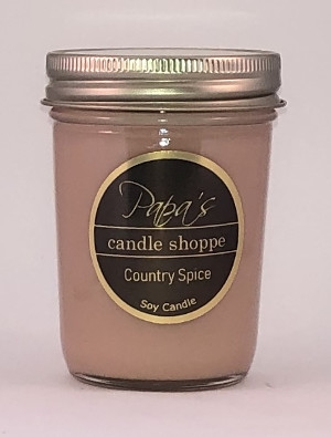 8 oz Jelly Jar Highly Scented Soy Candles Papa/'s Candle Shoppe! Fraiser Fir