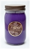 Plumberry Jelly Jar Soy Candle graphic