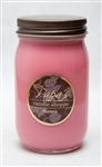 Plumeria Mason Jar Soy Candle graphic