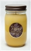 Peach Nectar Mason Jar Soy Candle graphic