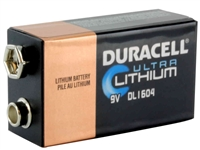 9v Battery for Defibtech LIfeline