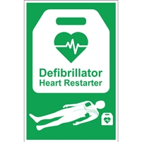 AED Sign - A4
