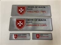 Order of Malta reflective insert ( 1 set )