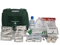 11-25 Person First Aid Kit - with Burns & Eyewash