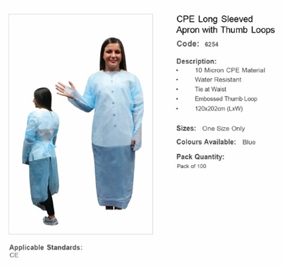 Gown | PPE | Hygiene | First Aid Shop