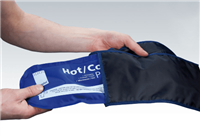 Ice pack cover - Reuseable Velcro