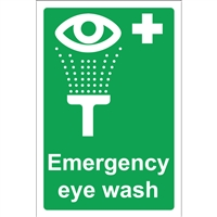 Eye wash Sign - A4