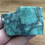 Polished Emerald Slice