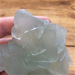 Green Fluorite Crystal with interesting partterns
