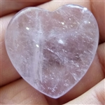 Amethyst Heart Small