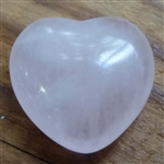 Rose Quartz heart small
