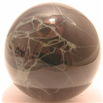 Spiderweb Obsidian Sphere