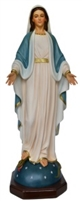 Our Lady of Grace 40 inch resin statue