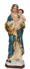 Madonna and child 20 inch resin statue