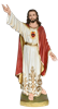 Sacred Heart of Jesus 48 inch resin statue