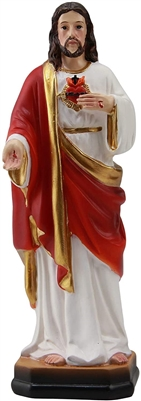 Sacred Heart of Jesus 5 inch resin statue
