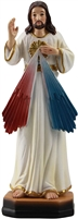 Divine Mercy 5 inch resin statue