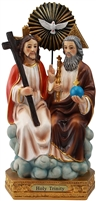 Holy Trinity 8 inch statue