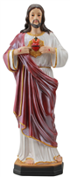 Sacred Heart of Jesus 12 inch resin statue