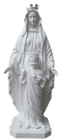 Virgin of the Sacred Heart 34 inch statue
