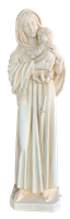 Madonna and child 60 inch resin statue