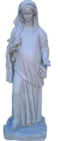 Our Lady of Hope 73 inch stone resin statue