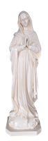 Virgin Mary 33 inch resin statue
