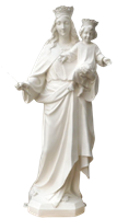 Virgin Mary 24 inch resin statue